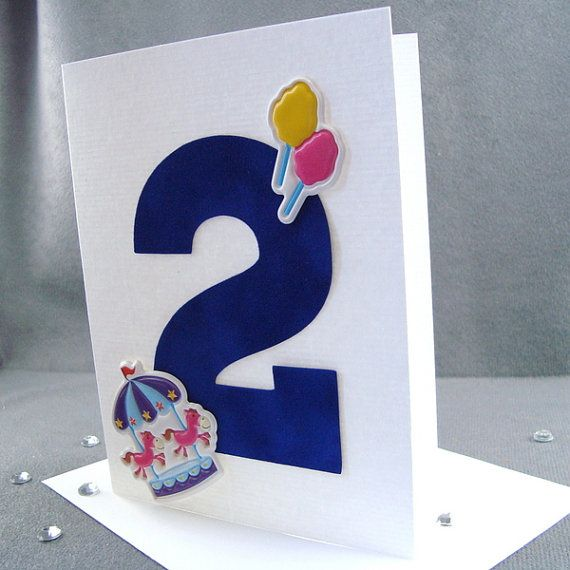 2nd birthday card childs milestone by zeebestcelebrations hbd items similar to birthday card childs milestone birthday handmade two year old birthday greeting card birthday boy on etsy bookmarktalkfo Images