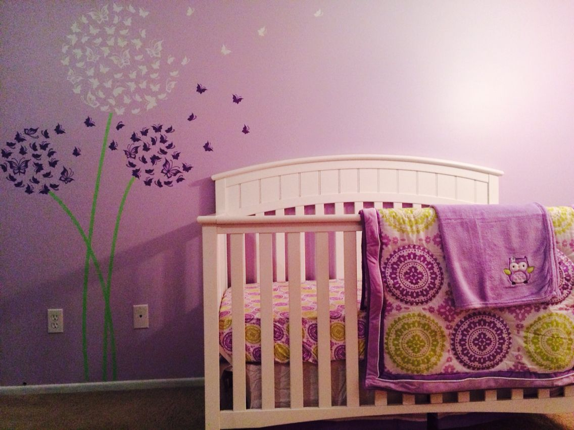 Behr lavender sparkle vinyl decal and circo bedding set https behr lavender sparkle vinyl decal and circo bedding set httpswww dandelion wall amipublicfo Images