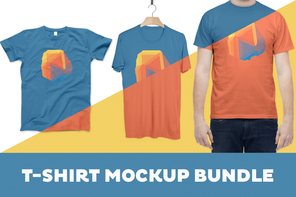 Download T Shirt Mockup Bundle 4 Templates Shirt Mockup Tshirt Mockup T Shirt Folding