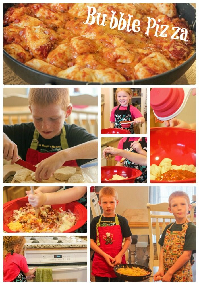 Cooking with Kids: Bubble Pizza