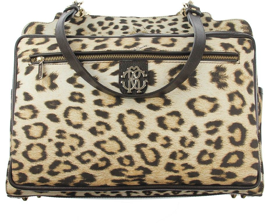 Roberto Cavalli Leopard Print Baby Changing Bag. This will ...