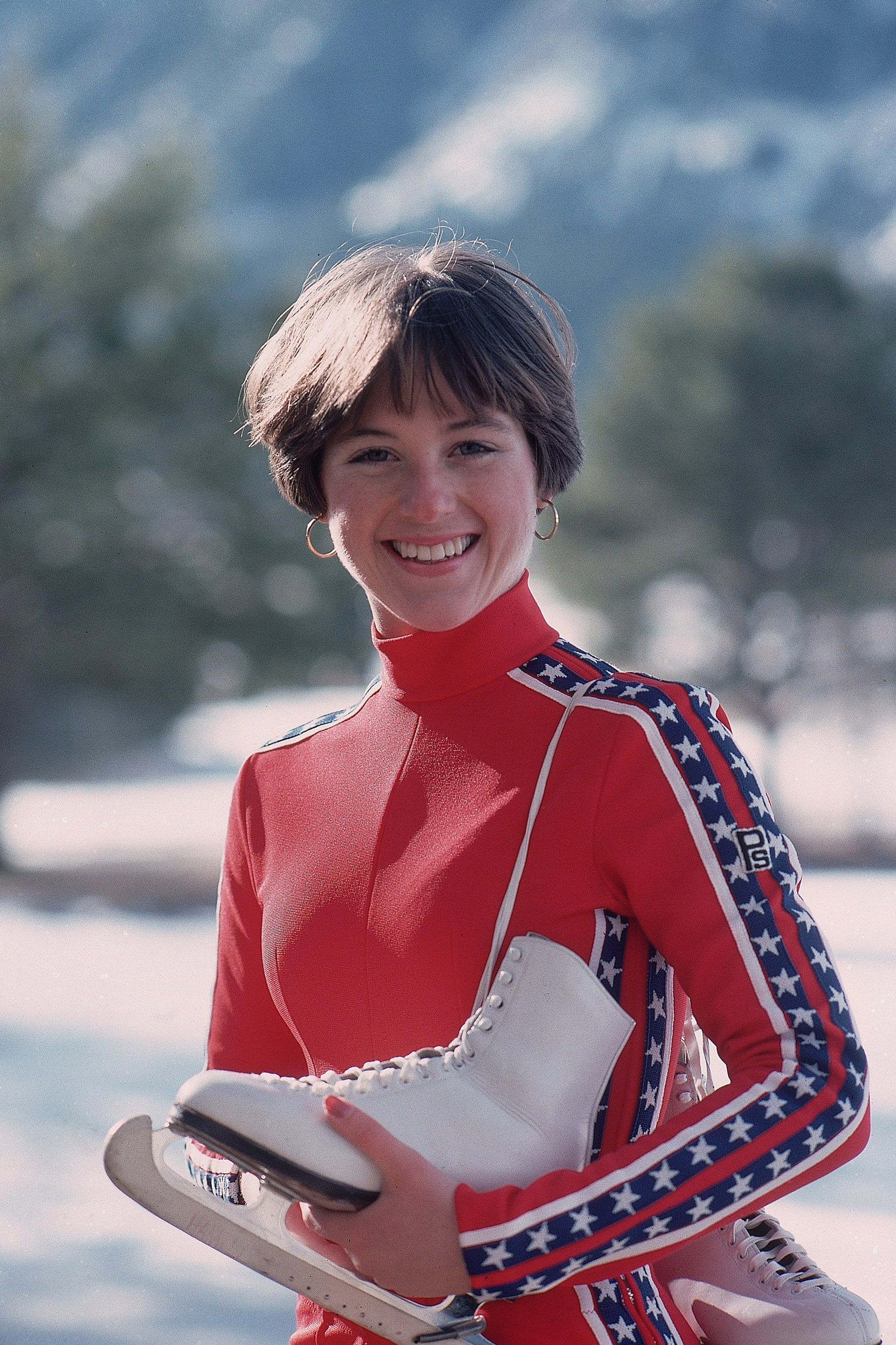 January 1976 Dorothy Hamill In Colorado Springs Colorado John G