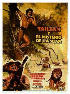 Mi Enciclopedia De Cine Caratulas De Las Peliculas De Tarzan Carteles De Películas Famosas Carteleras De Cine Carteles De Cine