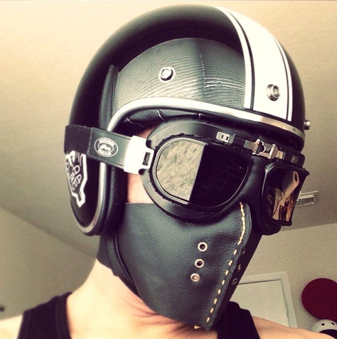As 25 Melhores Ideias De Biker Mask No Pinterest