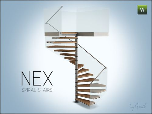 Nex Square Spiral Stairs Sims 4 Pinterest Sims Sims 4 And