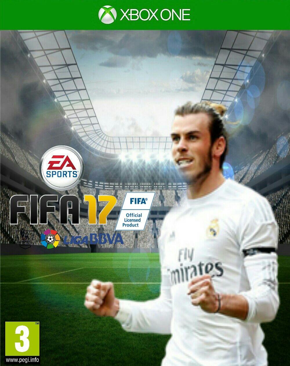 PIcsArt FIFA 17 Covers Bale Fifa, Fifa 17, Cover