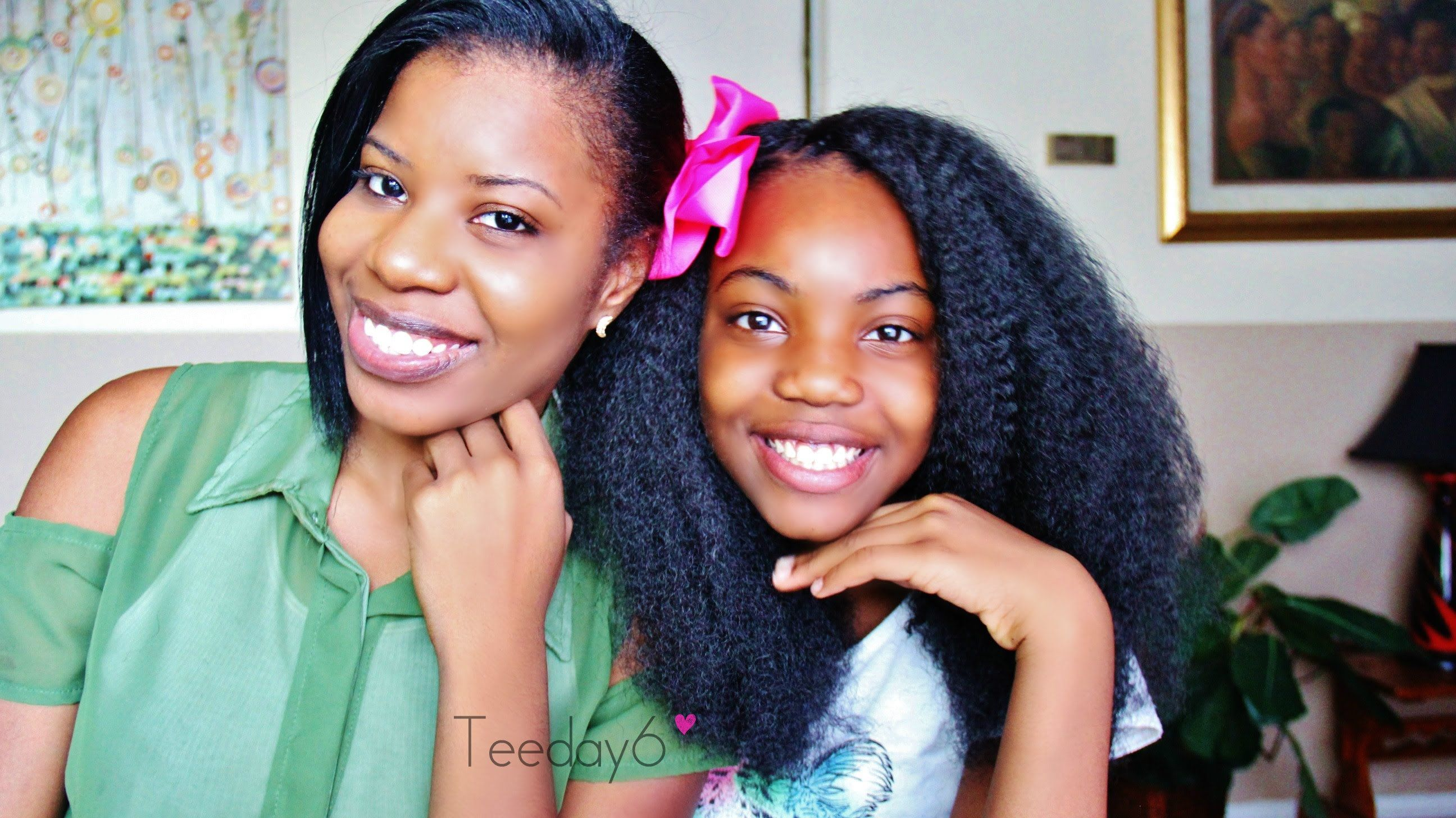 11 year old does her own crochet braids! | teeday6 | crochet