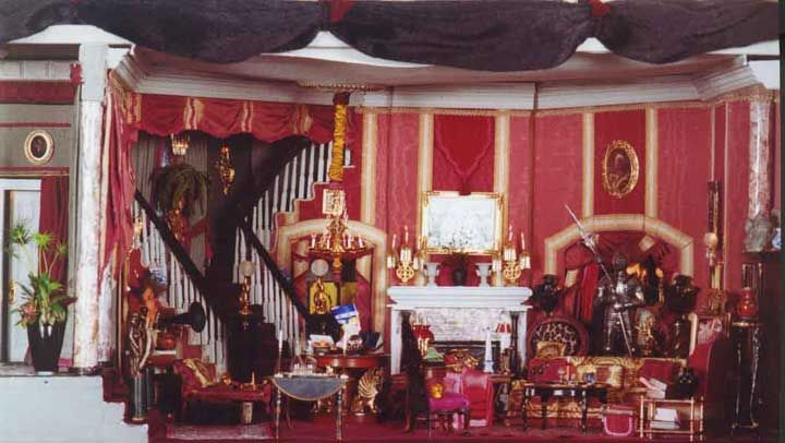 """addams family house interior in color    is titled simply """"the"""