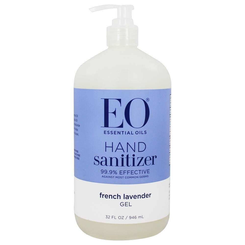 Hand Sanitizing Gel French Lavender 32 Fl Oz Eo Products Eos