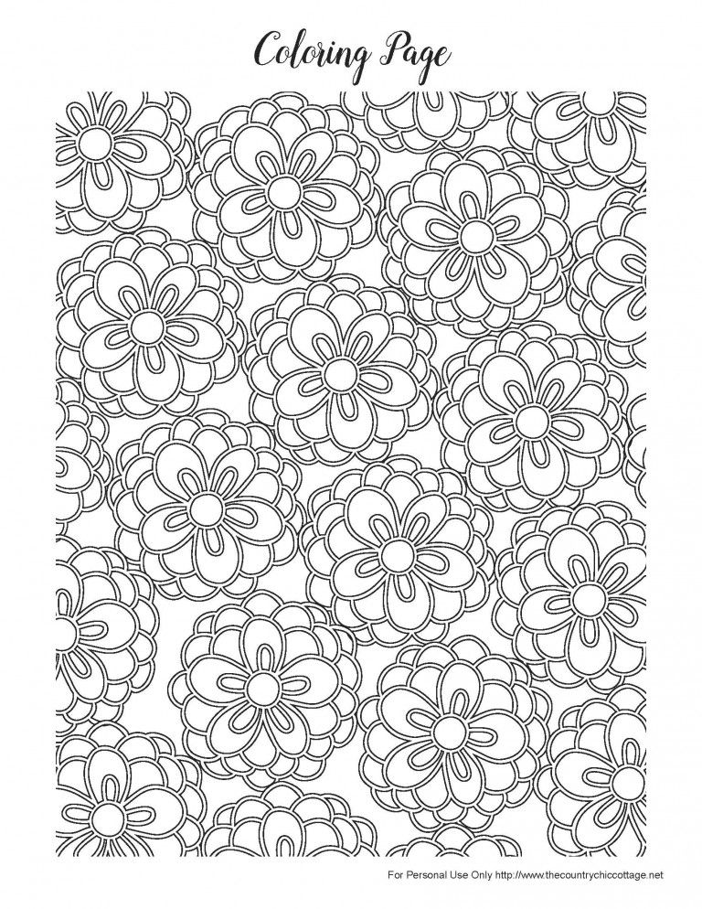 Free Spring Coloring Pages For Adults Spring Coloring Pages Flower Coloring Pages Spring Coloring Sheets
