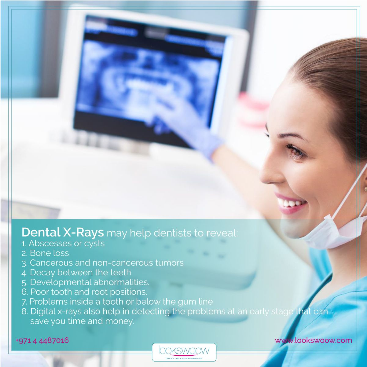 At Lookswoow We Use The Latest Technology Digital Radiography To Take Dental X Rays In This Technique We Use An Ele Snap On Smile Digital Radiography Dental
