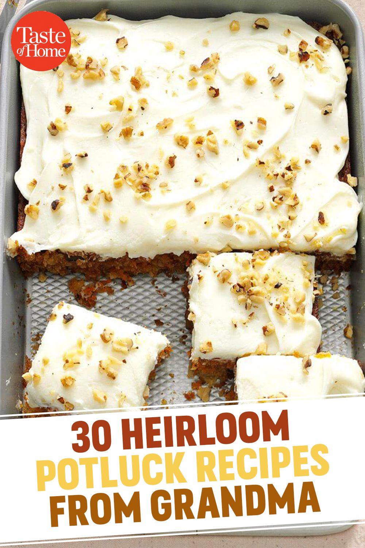 30 Heirloom Potluck Recipes We Got from Grandma