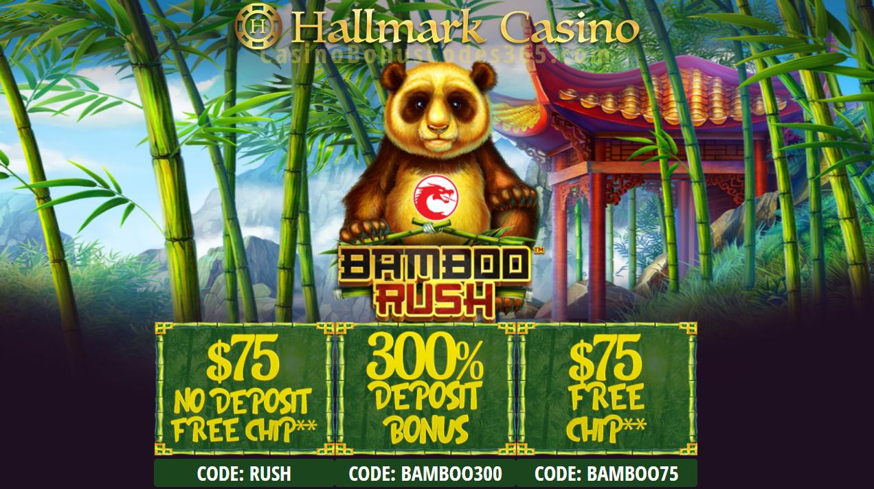 Hallmark Casino Bamboo Rush October Special Promo Casino Hallmark Casino Bonus