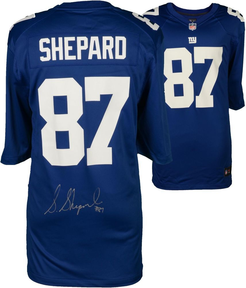 Sterling Shepard NY Giants Signed Blue Game Jersey - Signed on Jersey -  Fanatics  Football 9f0b1105b38