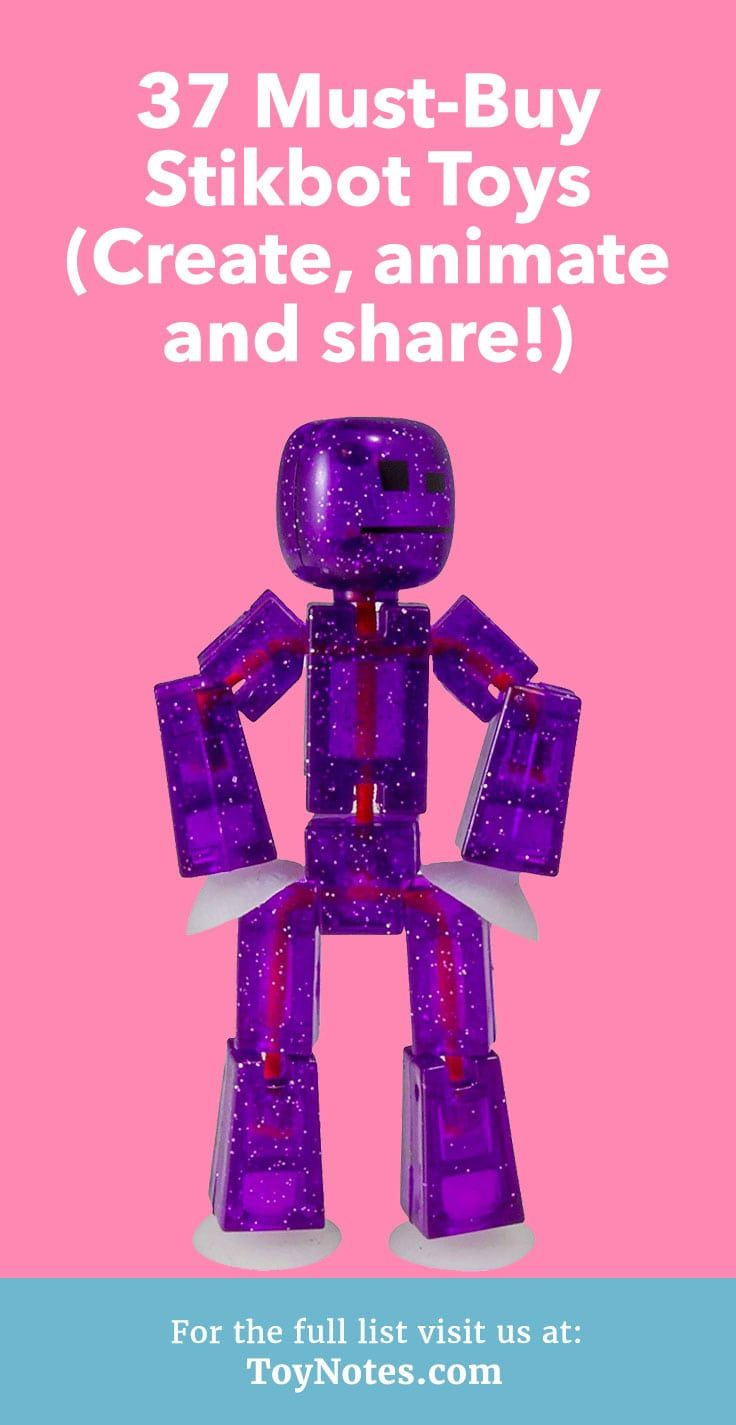 37 Must Buy Stikbot Toys Create Animate And Share Cool