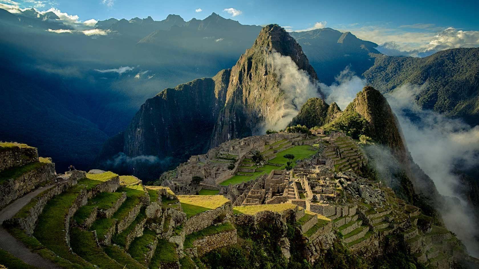 Machu Picchu Peru Wallpaper HD Background Download Desktop 1024x768 Wallpapers 10