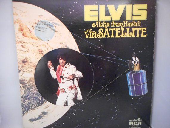 Elvis Presley Aloha From Hawaii 1972 Stereo By Madmonkeyrecords Elvis Aloha From Hawaii Elvis Aloha