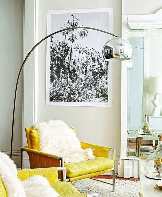 As a general rule use a thick frame for large art and a thin frame