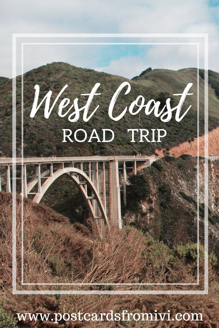 Ultimate West Coast Road Trip Itinerary from Seattle to LA #westcoastroadtrip