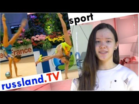 Sportgymnastik: Die Averina-Zwillinge (Dina und Arina)