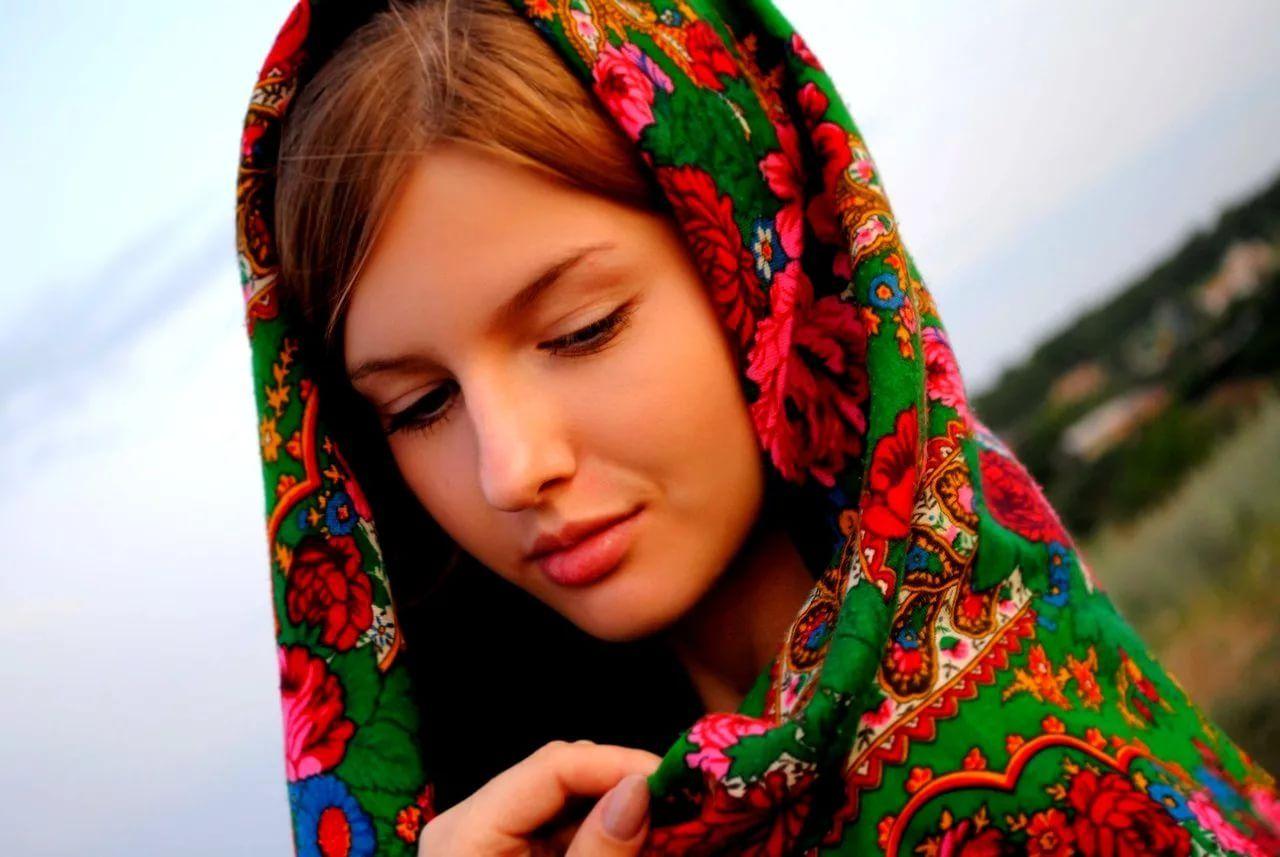 Русская картинки девчонки