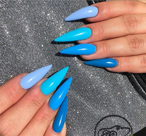 45 Cool Stiletto Nail Designs To Try Now In Summer Nail Art Connect Stilettonails In 2020 Stiletto Nails Designs Summer Stiletto Nails Nail Art Summer