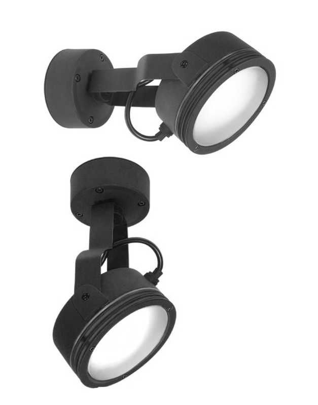 Stylish and low energy exterior floodlight can be mounted on wall these stylish and modern black low energy floodlights are really popular adjustable and low energy lighting from the specialist company lighting styles aloadofball Choice Image
