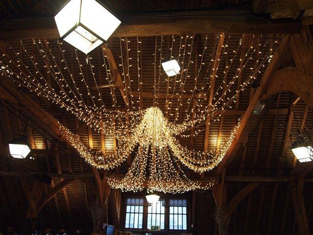 Christmas lights! Wedding (D+N) Wedding, Lighting, Christmas lights