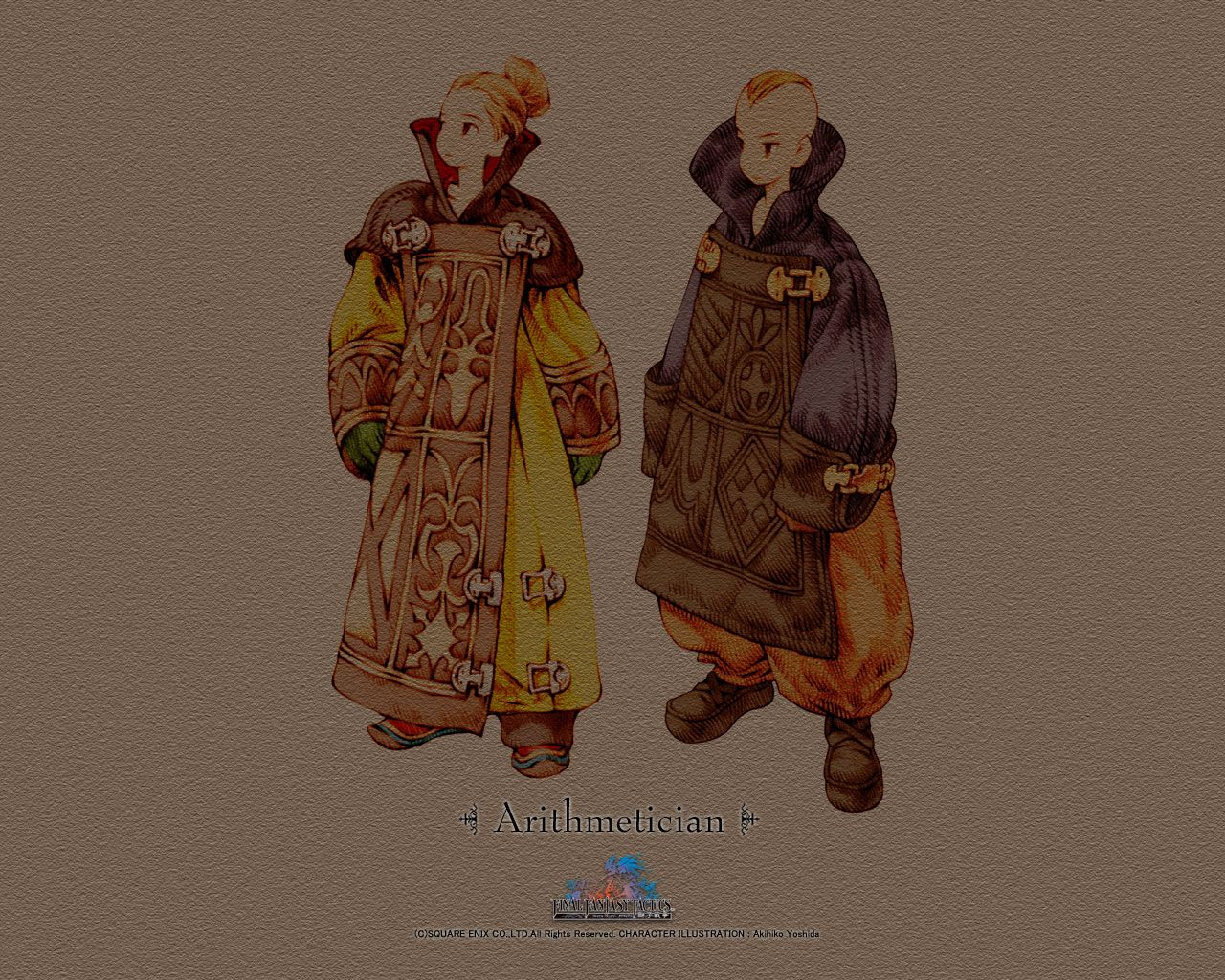 Calculator FFT | Classic RPG Character Design | Art, Fantasy art e