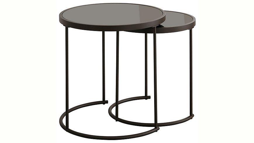 Home Affaire Beistelltisch Set 2 St Beistelltisch 2er Set Beistelltische Set Und Tisch