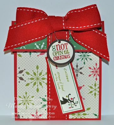 Friday, December 24, 2010                          PRESENT GIFT CARD HOLDER #3...      Thank you so much your comments and emails about my b...