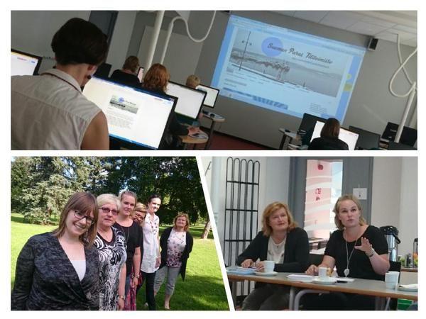 Suomen Paras Tilitoimiston ottamassa digitaalista maailmaan hallintaan Lahdessa, Elokuu 2015