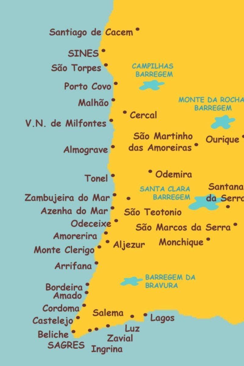 Praias Da Costa Alentejana Em 2020 Costa Vicentina Praias De