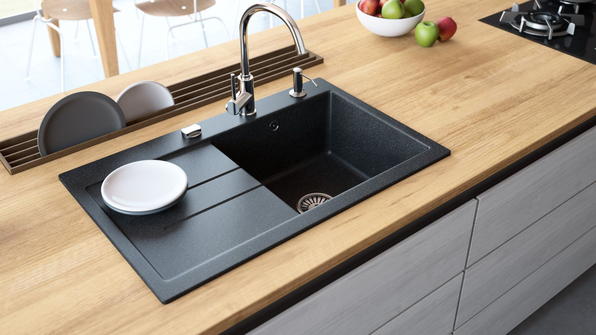 Pros And Cons Of Granite Composite Sinks Best Kitchen Guides Di 2020