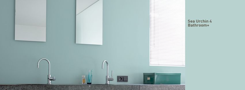 amazing relaxing bathroom paint colors   Sea urchin 4 is a wonderful zen blue for a delightfully ...