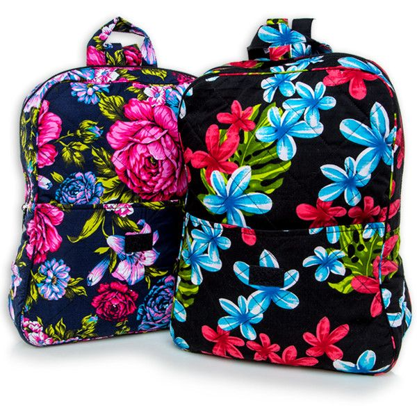 quilted backpacks ($5) ❤ liked on Polyvore featuring bags, backpacks, day pack backpack, floral backpack, floral print bag, rucksack bag and floral print backpack