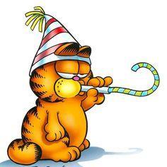 Happy Birthday Garfield Birthday Garfield Cartoon Birthday