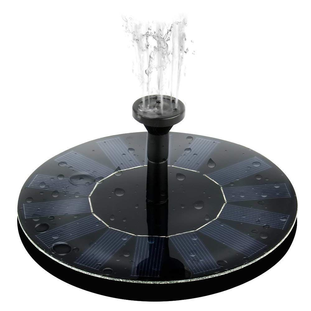AUTO PDR Floating Solar Fountain Pump 1.4W