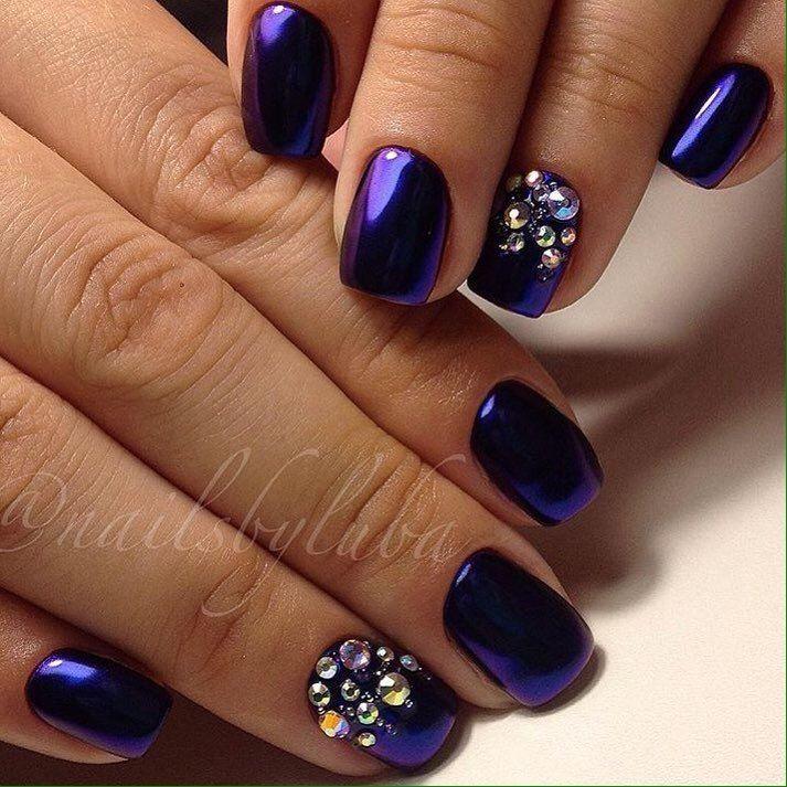 Nail Art 2565 Best Nail Art Designs Gallery Bestartnails Com Dark Purple Nails Purple Toe Nails Bright Nails