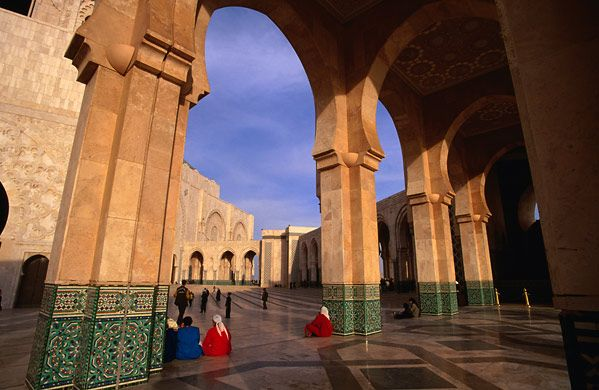 Casablanca, a destination made famous by the movie by the same title, is Morocco's largest city.