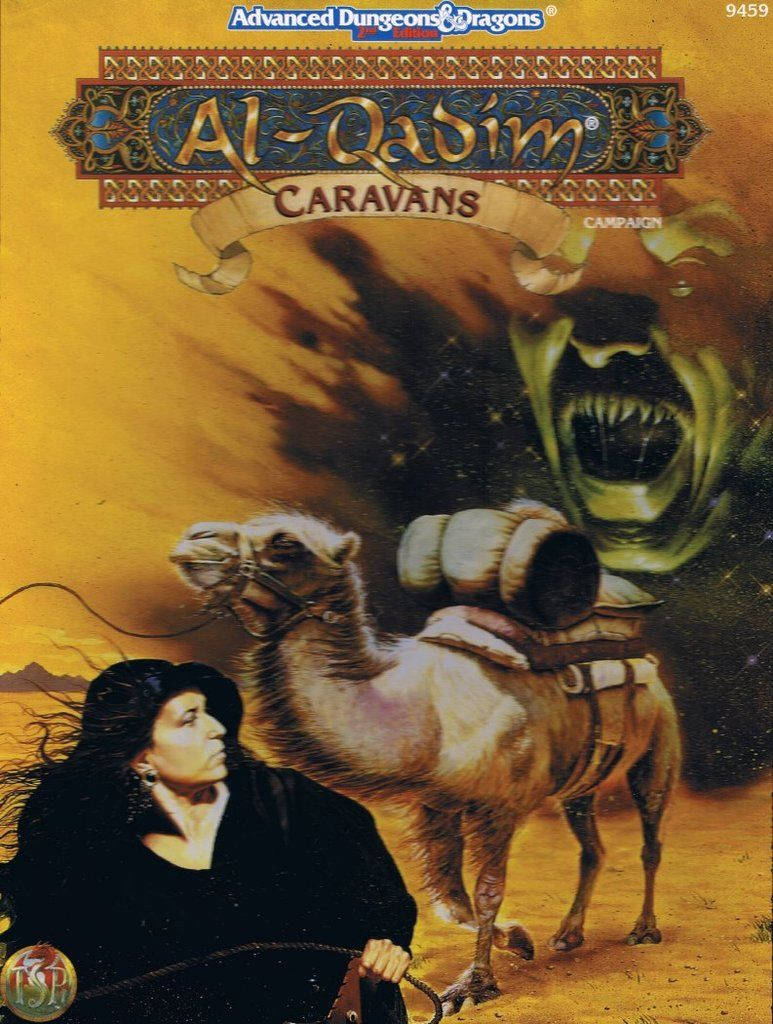 Caravans 2e Wizards Of The Coast Forgotten Realms Ad D 2nd
