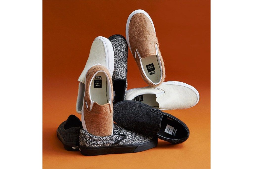 db542e69449159 Opening Ceremony x Vans Wool Slip-On 聯名系列鞋履