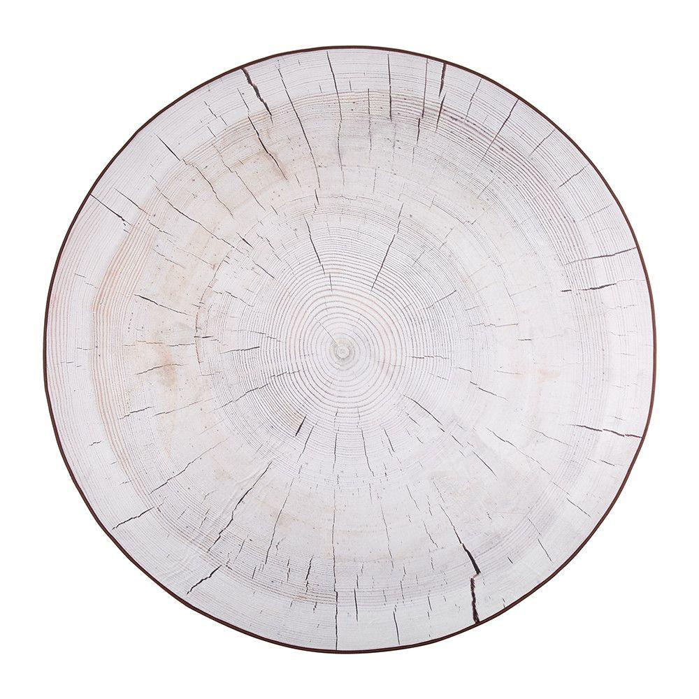 birch round rug