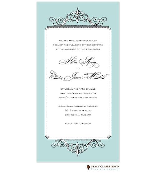 Elegant Affair Invitation   #wedding invitation #invitation