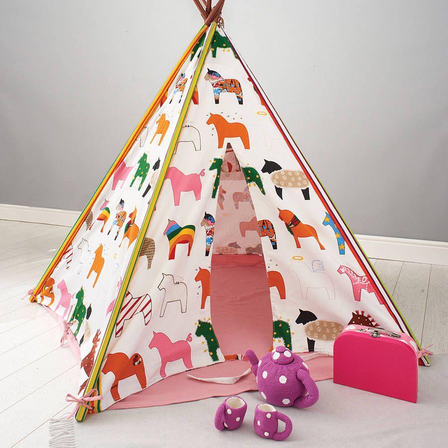 Design Childrens Teepee pony tipi kidsworld pinterest and children s tipi