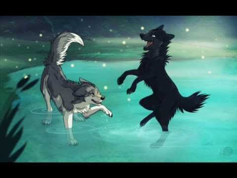 Anime Wolves Fireflies Anime Wolf Anime Wolf Girl Anime Wolf Drawing