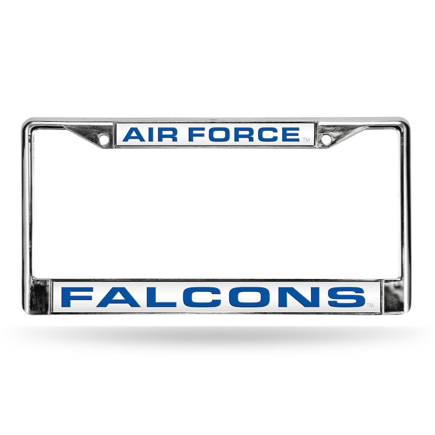 Air Force Falcons License Plate Frame, Multicolor | Falcons, License ...