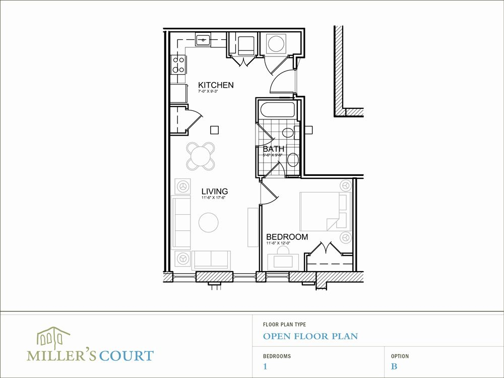 1 Bedroom House Plans Free Beautiful 15 Beautiful E Bedroom Floor Plan House Plans In 2020 1 Bedroom House Plans 1 Bedroom House Bedroom House Plans