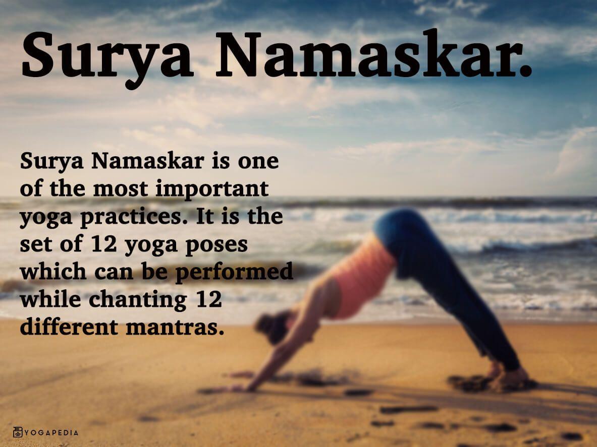 Surya Namaskar Yoga Definition