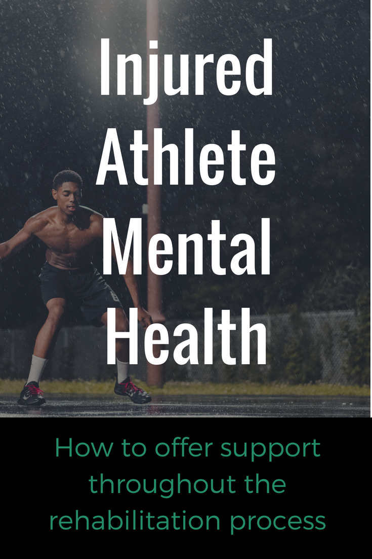 Five Ways To Support Injured Athletes Mental Health Mental Health